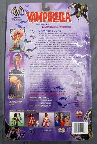 Julie Strain as Vampirella 6/'/' Action Figure 2000 MAC Harris Comics NEW
