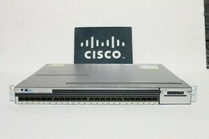 Cisco-Catalyst-3750X-WS-C3750X-24S-S-24-Port-GbE-SFP-ipbase-Managed-Switch