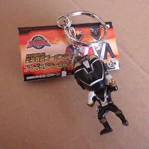 Banpresto Engine Sentai Go-onger Cute Figure Keychain Go-on Gold