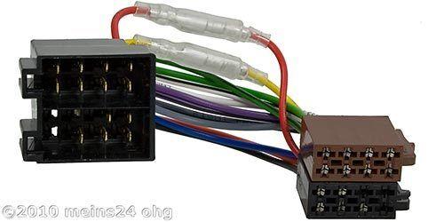 Auto Radio Adaptador Cable ISO conector para Opel Astra F G corsa a b c Vectra A B