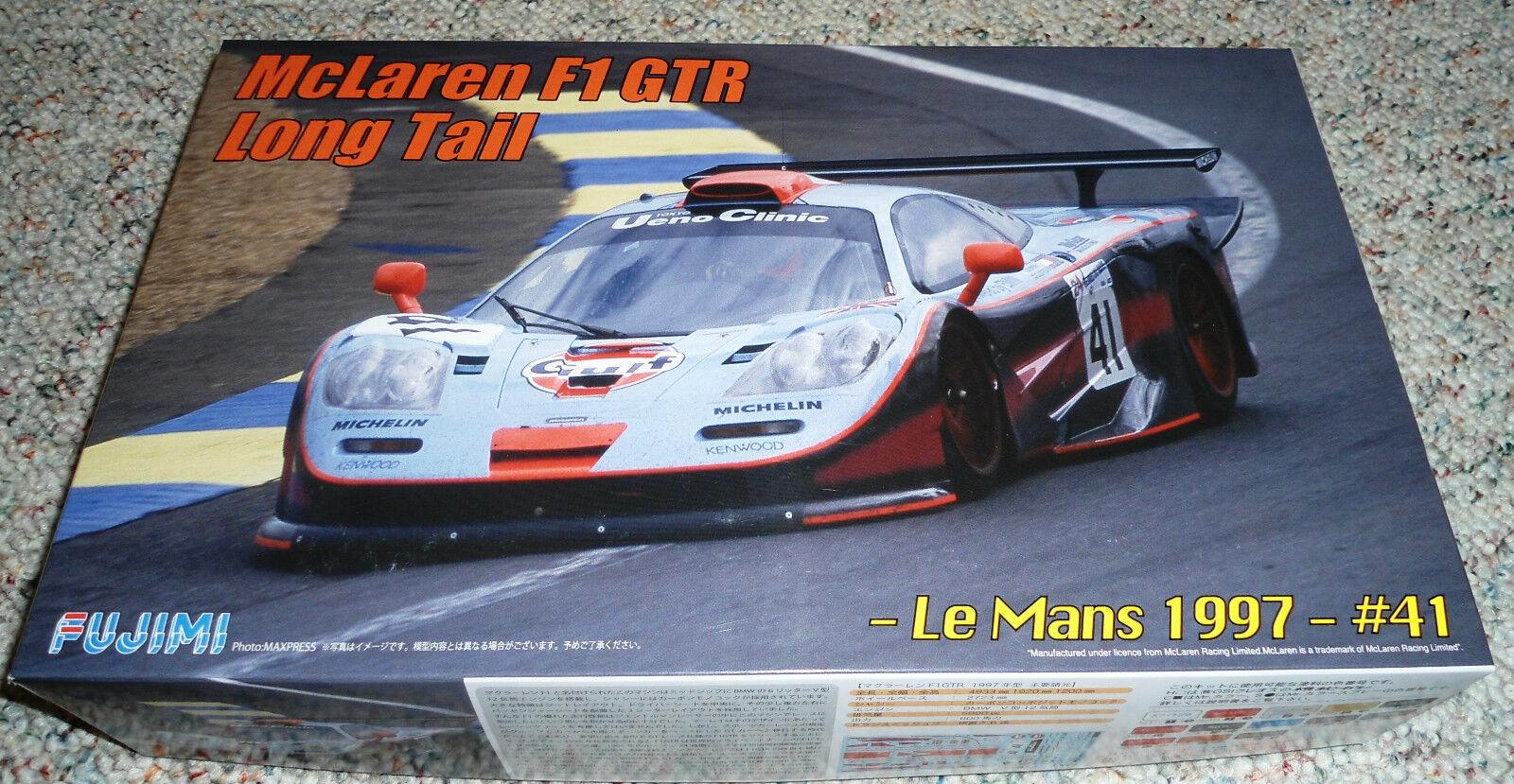Fujimi 1 24 McLaren F1 GTR Longtail LeMans 1997 ()