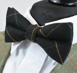 Bow Tie. Black With Orange Stripe. Cotton Premium Quality. Pre-tied. Bv127-afficher Le Titre D'origine La RéPutation D'Abord