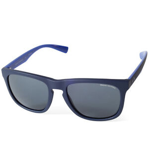 1fa2703a2 Image is loading Armani-Exchange-AX4058S-819887-Matte-Navy-Blue-Grey-