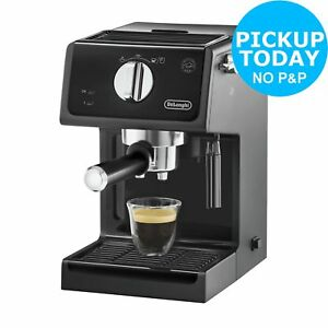 Details About Delonghi Ecp3121 11l 15 Bar Pump Espresso Coffee Machine Black