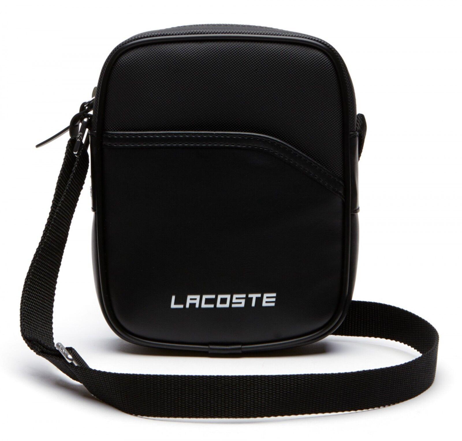 LACOSTE Ultimum Grünical Camera Bag Umhängetasche Tasche Peacoat Neu | Ausgezeichnet  | Erste in seiner Klasse  | Schönes Design