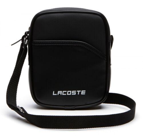 LACOSTE Ultimum Vertical Camera Bag Umhängetasche Tasche Peacoat Neu