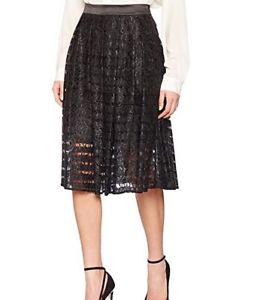 S295# Miss Selfridge Women's Lace Midi Skirt Size 10 Rrp£45 Röcke Damenmode