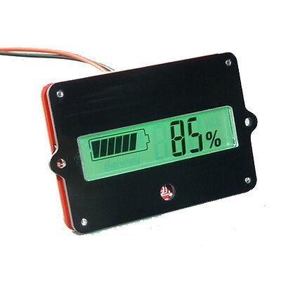 Capacité Testeur Indicateur De Batterie Tester Voltmètre Compteur  LCD Puissance