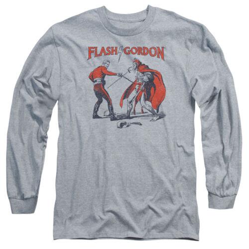 Flash Gordon Comic DUEL Licensed Adult Long Sleeve T-Shirt S-3XL
