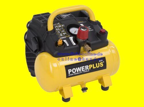 8 bar compresor portátil nuevo Powx1721 compresor de aire con caldera 1100 vatios max