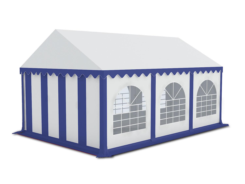 Partyzelt Partyzelt Partyzelt 3x6m Pavillon Festzelt  Gartenzelt Bierzelt Pavillon Zelt blau weiss | Authentisch  | Verschiedene  | Starke Hitze- und Abnutzungsbeständigkeit  889bbd
