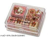 San X Rilakkuma Small Stamp Sets