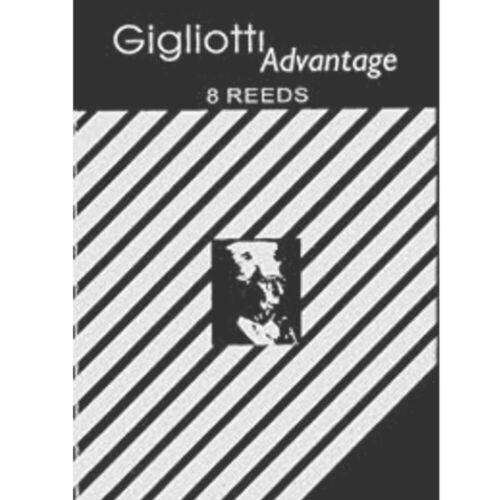 Gigliotti Advantage Bb Clarinet Reeds Strength 4 Box of 8 BRAND NEW
