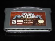 LARA CROFT TOMB RAIDER GAME USED GAMEBOY ADVANCE SP ED AMERICANA CARTUCCIA 29823