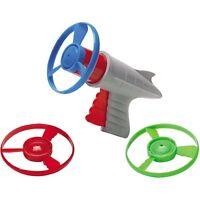 Lunar Launcher Space Pistol Retro Toy Propeller Prop Helicopter Disc Ray Gun
