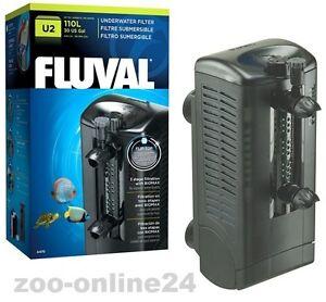 fluval u2 aquarium filter bio innenfilter 400 l h f r aquarium bis 110 l a 470 ebay. Black Bedroom Furniture Sets. Home Design Ideas