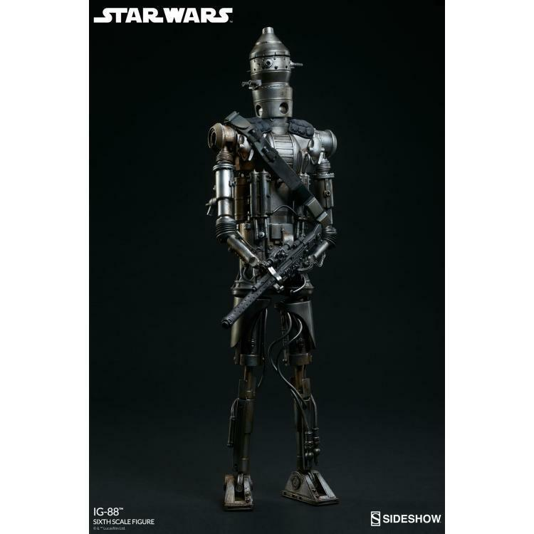 STAR WARS  IG-88 EXCLUSIVE EDITION SIXTH SCALE FIGURE
