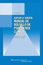 Manual de Bolsillo de Psiquiatria Clinica (Spanish Edition)