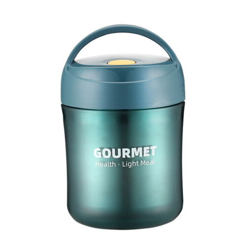 Vacuum Sealed Metal Mug Thermos Insulated Hot Soup Lunch Coffee Container
