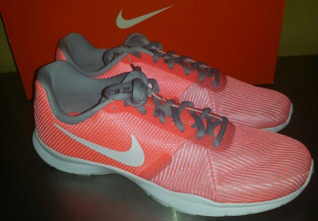 0748175f0822 Women s Nike Flex Bijoux Shoes Sz 9 athletic training Peachy Pink 881863  600 NEW