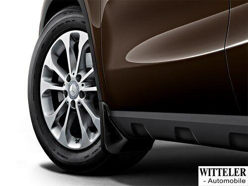 Mercedes Benz original  Schmutzfänger Satz hinten schwarz GLA X156 Hinterachse