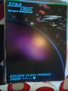 Star Trek the Next Generation Williams Pinball Flyer NOS
