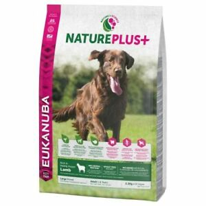 3-x-10-kg-30-kg-Eukanuba-Nature-Plus-Adult-Medium-Large-agneau-3-30-Par-Kilo