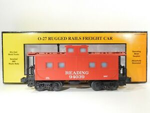MTH-O-Gauge-Reading-Steel-Caboose-30-4145C-TOTES-C-170