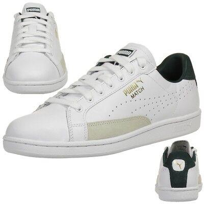 Puma Herren Sneaker Match 74 UPC Lthr Leder 359518 20 weiß grün | eBay