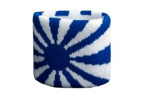 Schweisband-Drapeau-Drapeau-Bleu-Blanc-2er-Set-7x8cm-bracelet-de-sport