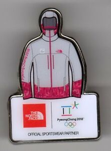 pretty nice wholesale online save up to 80% Details about PYEONGCHANG 2018 OLYMPIC GAMES. SPONSOR PIN. THE NORTH FACE.  VOLUNTEERS HOODIE
