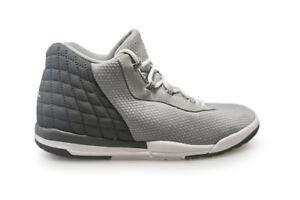 la meilleure attitude 49dca 2c767 Détails sur Enfants Nike Jordan Academy Bp - 844704013 - Gris Baskets Blanc