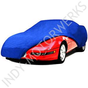 C5 Corvette Semi Custom Car Cover Blue Fits All 1997 Through 2004 Corvettes