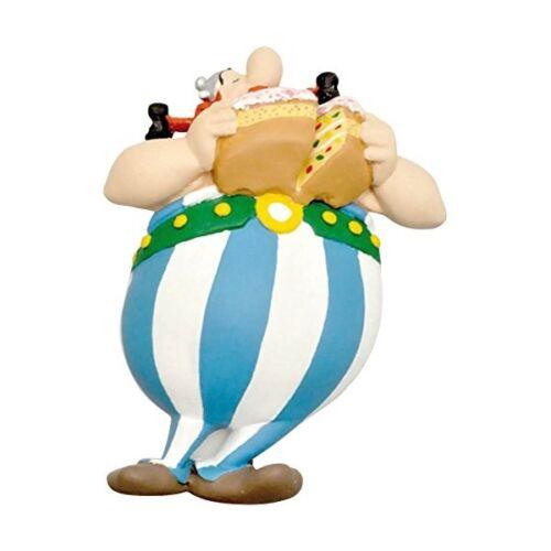 Plastoy Asterix /& Obelix mit Torte Magnet Sammelfigur NEU NEW Figur aimant imán