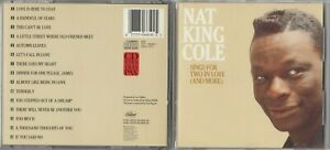 Nat king Cole - Sings for Two in Love (And More) CD 1987 EARLY JAPAN PRESS