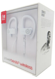 Beats by Dr Dre Powerbeats3 In-Ear Wireless Headphones White New In Retail OEM