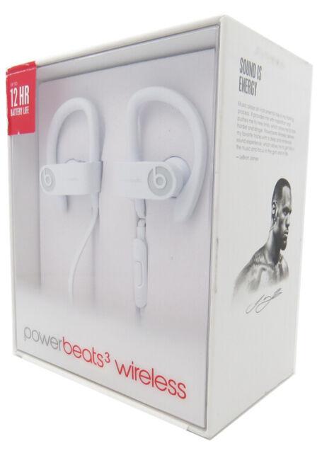 Beats By Dr Dre Ml8w2ll A Powerbeats3 Wireless In Ear Headphone White For Sale Online Ebay