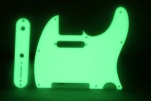 Tele Telecaster Green Mirror pickguard set Fender