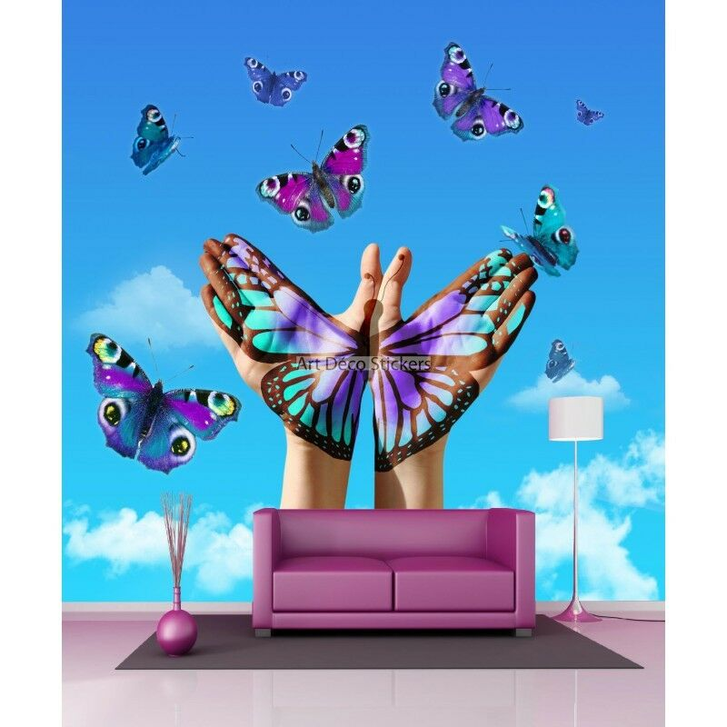 Adesivi Gigante Decocrazione Farfalle 11032 11032