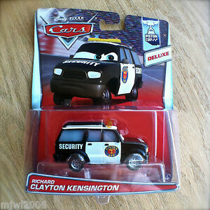Disney-PIXAR-Cars-RICHARD-CLAYTON-KENSINGTON-diecast-PISTON-CUP-4-18-DELUXE-SUV