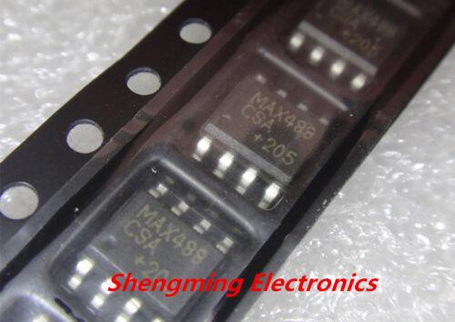 10PCS MAX488CSA MAX488ESA SOP-8 IC good quality