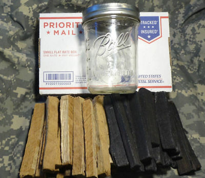 Charred Toasted White American Oak Chips Distilling Moonshine Beer Wine Making