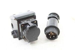 Great-Old-Socket-Bakelite-With-Plug-Old-Vintage-Ex-Exposed