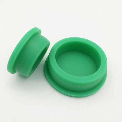 Green Silicone Rubber Hose Blanking End Cap Inserts Seal Plug Bung Hole Stopper