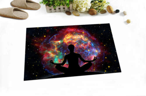 Yoga Realm Waterproof Bathroom Polyester Shower Curtain Liner Water Resistant