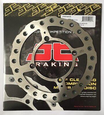 JT Brakes Self Cleaning 220mm REAR Wavy Brake Disc Kawasaki KX250 1991 to 2002