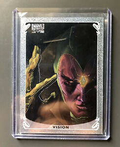 2018-Upper-Deck-Marvel-Masterpieces-Holofoil-Vision-1-of-20