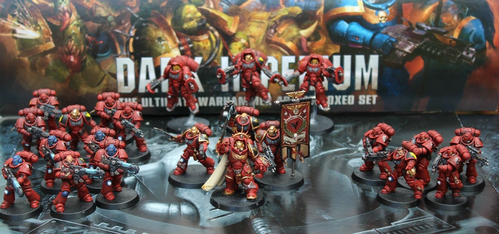 Primaris space marines army Blood angels  Pro painted made to order