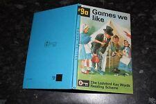 Ladybird Key Words  Reading Scheme Peter & Jane 9a Games we like 30p
