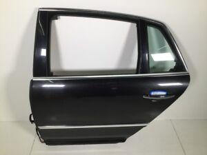 Negro-LR9V-Puerta-Izquierda-Trasero-VW-Phaeton-3D-3-0-V6-Tdi-4motion-165-Kw